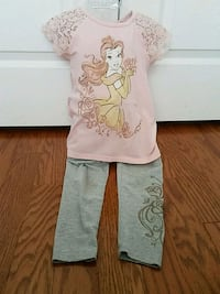 Disney Princess Belle two piece set girls size 4 Bryans Road, 20616