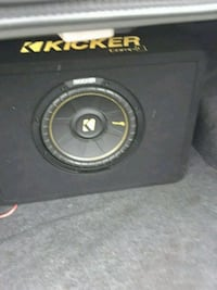 black Kicker subwoofer with enclosure Asbury Park, 07712