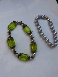 green and silver beaded necklace Amarillo, 79102