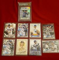 Cody bellinger rookie graded auto card  lot  Jessup, 20794