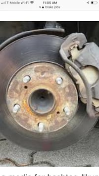 Brake pad replacement most vehicles, labor only. Chesterfield