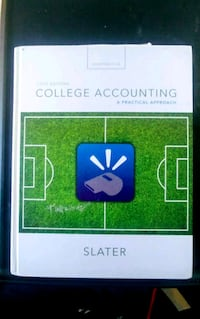 College Accounting book by Slater White City, 97503