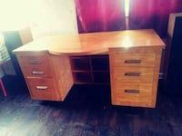 Older solid wood desk  Youngstown, 44515