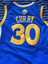 Stephen Curry Warriors Blue Jersey Laval, H7X 3Y6