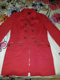 New-Woman's Ponte red jacket sz Large Howell, 07731