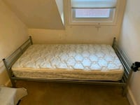 Twin Size Mattress and Frame  Bethesda