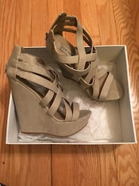 Women's leather open toe wedges Catonsville, 21228