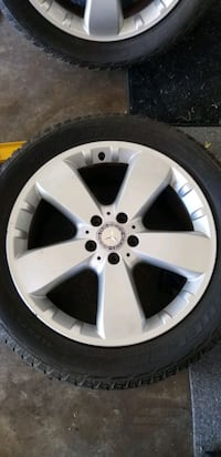 Mercedes Benz ML350 Wheels and tires