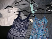 Huge lot of name brand women's clothing (size M)