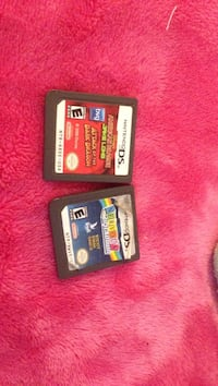 2 nintendo DS game cartridges Kelowna, V1X 7G6
