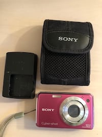 Sony cybershot camera (comes with extra memory card) Laval, H7M 1N3
