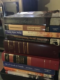 University law books for students 19 books Toronto, M6N 2H4