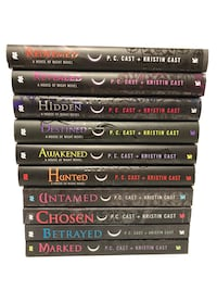 YA book series: House of Night, by P.C. Cast and Kristen Cast Brooklyn Park, 55443