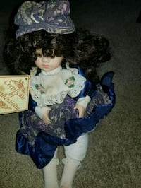 soft expressions porcelain collectible doll