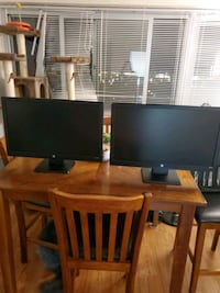 Two Hp monitors 23inch