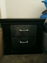 Two Black night stands Fontana, 92335