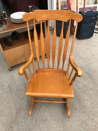 Made in Europe Solid Rocking Chair  Edmonton, T5M 0S5