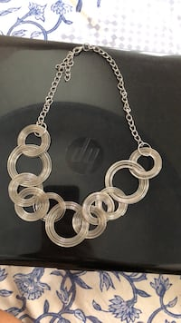 silver-colored chain necklace Ahmedabad, 380009