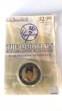 Mickey Mantle 2005 Medallions Collections Westport, 06880