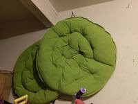 two round green cushions Santa Clara, 95050
