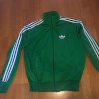 Green top adidas tracksuit pre-owned Medium M