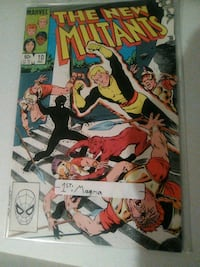the New mutants issue 10 comic book first appearance of magma Glen Burnie, 21060