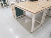 Office Desks with Hole for Computer Wires SINGAPORE