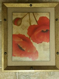 Red Flower Painting San Diego, 92123
