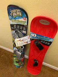 Snow boards $15.00 each one