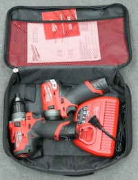 Milwaukee M12 Fuel Drill & Impact kit w/ 2 Batts and Charger Westminster