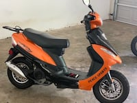 Orange moped (SOLD FOR PARTS!)