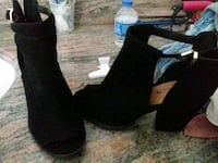 Heels high ankle wedges brand new size 7/1/2 Bakersfield, 93304