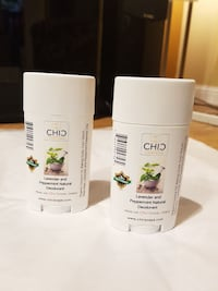 Lavender and Peppermint Natural Deodorant.  Toronto, M1H 3G6