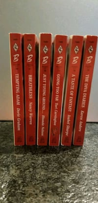 Harlequin Blaze Collection - All 6 Books