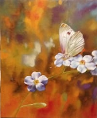 BEAUTIFUL BUTTERFLY ART (NEW CONDITION)