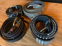 4 fashion belts  Silver Spring, 20905