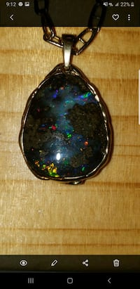 14k Boulder Opal Mint Condition Beautiful  Fredericksburg, 22405