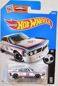 Hot Wheels '73 BMW 3.0 CSL Race Car Oklahoma City