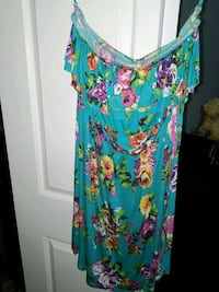 Strapless dress - M