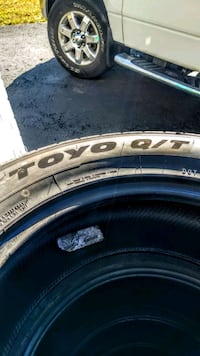4 Light Truck or SUV Tires Toyo Open Country