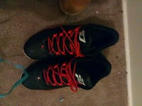 pair of black-and-red Nike basketball shoes Columbus, 43206