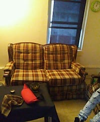 Couch and chair  Warren, 44484