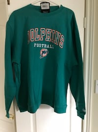 Miami Dolphins retro fleece top brand new  Vaughan, L4H 2S8