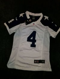 white and black NFL jersey shirt Bath, 18014