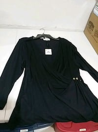Navy Calvin Klein Blouse XL Wyoming, 49519