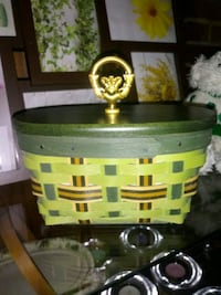 2013 Irish Traditions Small Longaberger basket Boonsboro, 21713