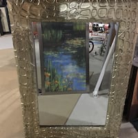 "Mirror beveled high end solid frame. 33"" x 40"" Caledon, L7E 4H7"