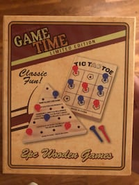 Wooden games. New in box. Pleasant Grove, 35127