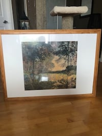 Wooden framed painting Langley, V2Y 1L5