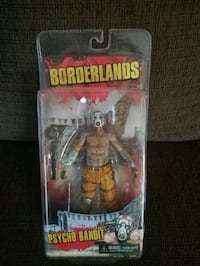 Borderlands Psycho Bandit action figure pack Winnipeg, R2W 2J7